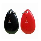 2 Repelentes Eletrônicos Chaveiro Pessoal Portátil Preto e Vermelho - DNI 6955