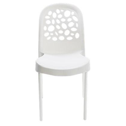 Cadeira Deluxe Branca Forte Plástico