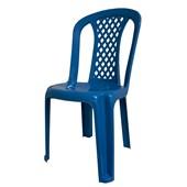 Cadeira Infantil Deluxe Azul Forte Plástico