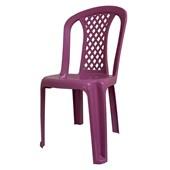 Cadeira Infantil Deluxe Rosa Forte Plástico