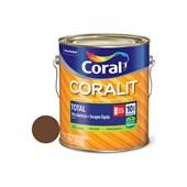 Esmalte Sintético Coralit Secagem Rápida Balance Brilhante Tabaco 3.6L Coral