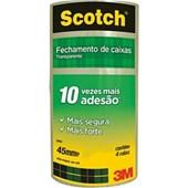 Fita Adesiva Transparente 45X30 Scotch  4 Unidades 3M