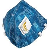 Máscara Respiratória Dobravél PFF2 com Válvula 9822+BR 3M